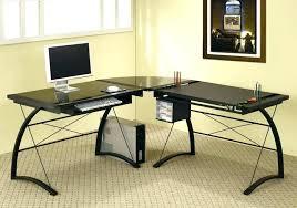 Glass Computer Desk Office Depot L Shaped Computer Desk Office Depot Tandemdesigns Co