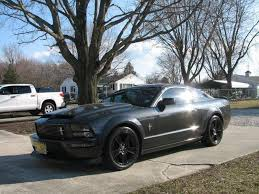 Mustang Gt Black Rims All Black Bullit Wheels The Mustang Source Ford Mustang Forums