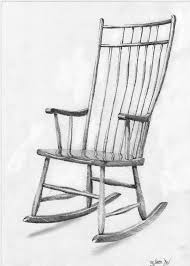 Rocking Chair Ghost Pop Up Scary Chair Pop Up