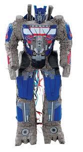 optimus prime pinata transform your next with an optimus prime piñata