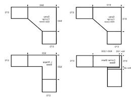 standard cabinet door width standard kitchen cabinet size uk