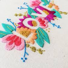 Flower Designs For Embroidery Consulta Esta Foto De Instagram De Brynnandcoshop U2022 1 559 Me