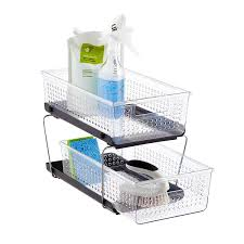 Bathroom Cabinet Organizer Sink Organizers Bathroom Cabinet Storage Organization