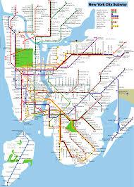 New York City Mta Map by Mapsingen Ny Subway Map