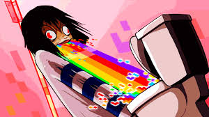 Meme Puking Rainbow - rainbows gif find download on gifer