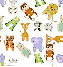 vector background with african animals royalty free stock photos