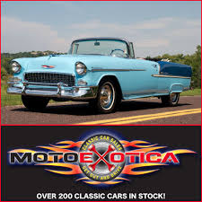 1955 chevrolet bel air convertible motoexotica classic car sales