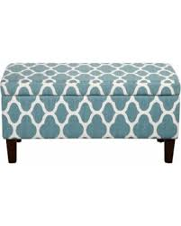 Homepop Storage Ottoman Get The Deal Homepop Geometric Decorative Storage Ottoman