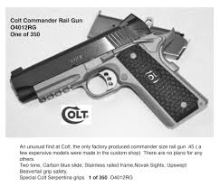 colt u2014 talo distributors inc