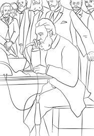 alexander graham bell coloring free printable coloring pages
