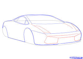 lamborghini symbol drawing how to draw a lamborghini step by step cars draw cars online