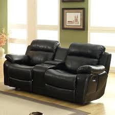 Black Leather Reclining Sofa And Loveseat Black Leather Reclining Loveseat Black Leather Reclining And