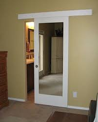 Sliding Barn Doors A Practical Solution For Large Or by Small Bathroom Door Solution Barn Doors Hardware Pinterest