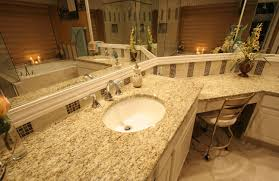 giallo ornamental granite designer bathroom