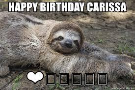 Sloth Meme Generator - birthday sloth meme generator