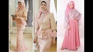 Baju Muslim Brokat baju muslim pesta bahan brokat
