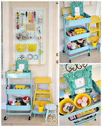Organize A Craft Room - craft room makeover workstation the 36th avenue
