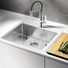 DCOR Design Water Creation  X  DropIn Kitchen Sink Wayfair - Drop in kitchen sinks