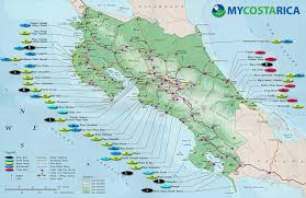 Map Of San Jose Costa Rica by Map Of Costa Rica Every Map You Need To Plan Your Trip To Costa Rica