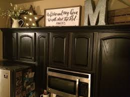 Ideas For Above Kitchen Cabinet Space Above The Fridge Decor Kitchen Essentials Clutter And Trays