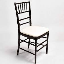 black chiavari chairs fruitwood chiavari chair standard party rentals modesto