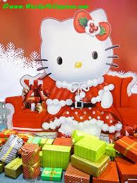 the joys of christmas hello kitty style at sm city north edsa