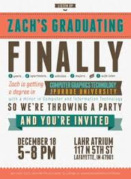 college graduation announcement template 40 joyful graduation invitations graphic design