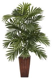 silk plants areca palm with bamboo vase silk plant green asian artificial