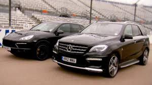 porsche cayenne turbo vs turbo s cayenne turbo vs ml63 amg fifth gear