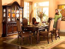 furniture wonderful dining room furniture set fruitwood pecan