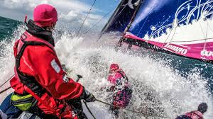 this all female sailing team is rocking the boat outside online