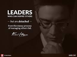Leadership Meme - leadership involves poetry as well as plumbing shadoka