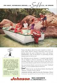 1956 johnson v 75 seahorse boat ad boats for women motorboat motor