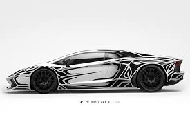 super car tattoos black n white on behance