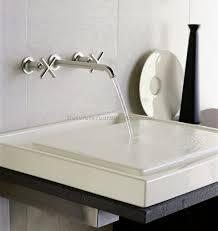 Kohler Bronze Kitchen Faucets Bathrooms Design Bathroom Wall Faucet Wall Mount Waterfall