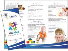 sample preschool brochure preschool brochure template example 10