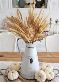 Table Decorations With Feathers 34 Chic Neutral Fall Décor Ideas You U0027ll Like Digsdigs