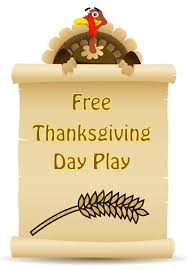 free thanksgiving day play thanksgiving plays and