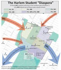 Harlem Map New York by Parent Trust In Harlem Schools U2014 Center For New York City Affairs