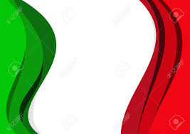 Mexixan Flag Vector Abstract Italian And Mexican Flag Background Royalty Free
