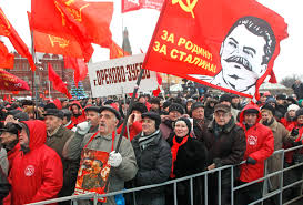 Communist Flag Russia Russia Protest Russia Watch