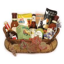 gift food baskets the asian express gift basket garden of gourmet market