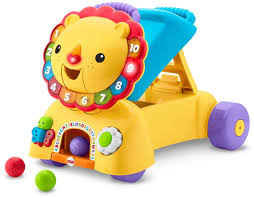 amazon com fisher price 3 in 1 sit stride u0026 ride lion toy toys