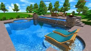 bedroom marvelous get unique and attractive pool design designs