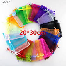 wholesale organza bags naweily brand wholesale organza bags 20 30 cm drawstring bag
