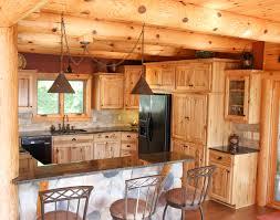 Lake House Kitchen Ideas Log Kitchen Cabinets Home Decoration Ideas