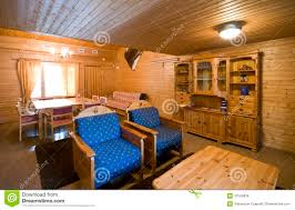 Wooden Interior Wooden Cabin Interior Royalty Free Stock Image Image 10145836