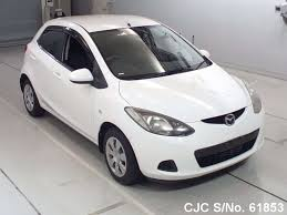 mazda used cars 2008 mazda demio white for sale stock no 61853 japanese used