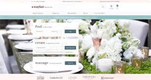 wayfair wedding registry wayfair unveils its wedding registry home accents today