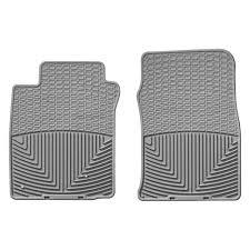 lexus gx rubber floor mats weathertech w39gr all weather 1st row gray floor mats